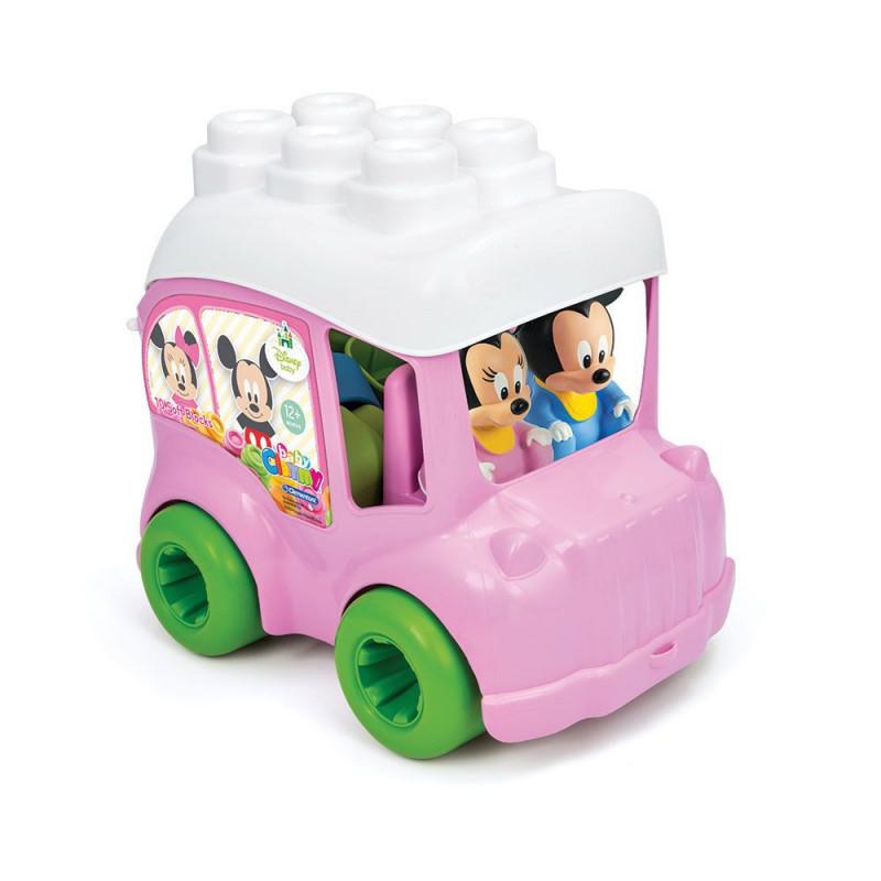 Конструктор Bus Minnie 10 кубчета  8110