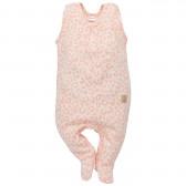 Памучен гащеризон без ръкави за бебе момиче Pinokio 814