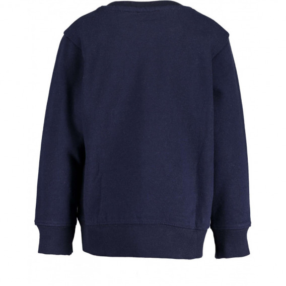 Памучен суичър с дълъг ръкав за момче BLUE SEVEN 81510 2