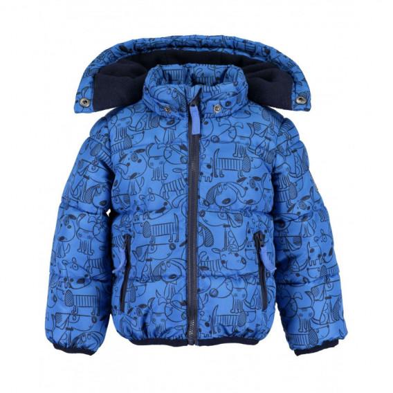 Яке за бебе момче BLUE SEVEN 81553