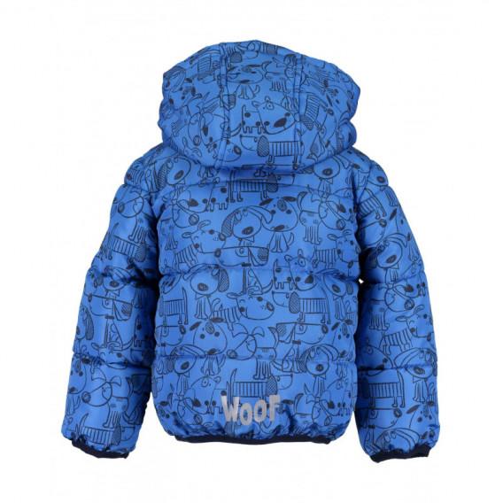 Яке за бебе момче BLUE SEVEN 81554 2
