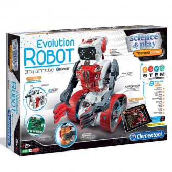 Робот evolution за програмиране- 8 режима на игра CLEMENTONI 8157