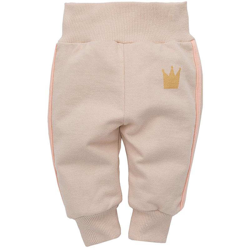 Панталон с розов кант за бебе момиче  817