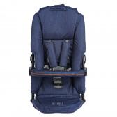 Седалка за количка Dragon, тъмносин цвят BebeDue 82582 2