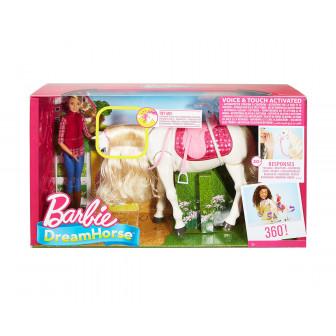 Кукла - интерактивен кон с движения и звуци Barbie 8276