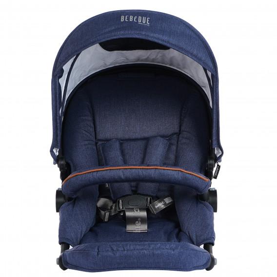 Седалка за количка Dragon, тъмносин цвят BebeDue 82809 11