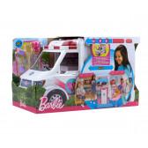 Мобилна клиника - игрален комплект с линейка Barbie 8284