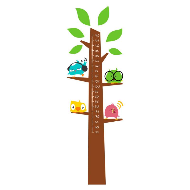 Стикер-дърво за измерване на височина  82852