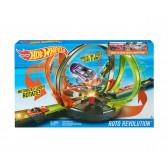 Игрален комплект , директен двубой c 2 колички Hot Wheels 8329