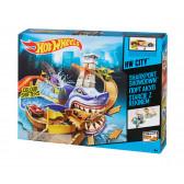 Писта акула, коли с промяна на цвета Hot Wheels 8334