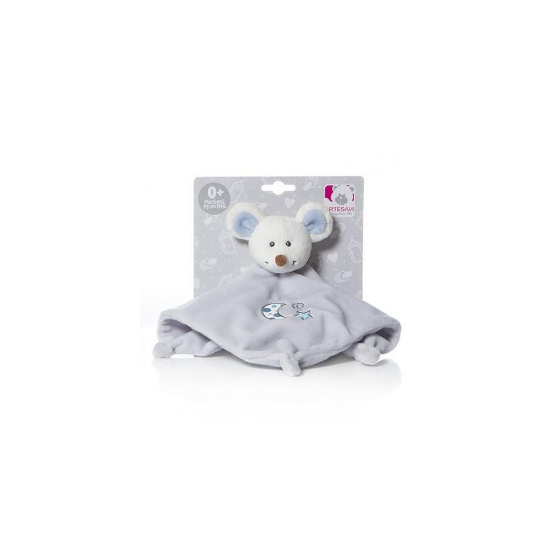 Кърпа за гушкане - мишка за момче  83859
