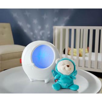 Музикална лампа- прожектор fisher price, с плюшена играчка Fisher Price  8395