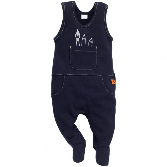 Памучен гащеризон за бебе - унисекс Pinokio 848