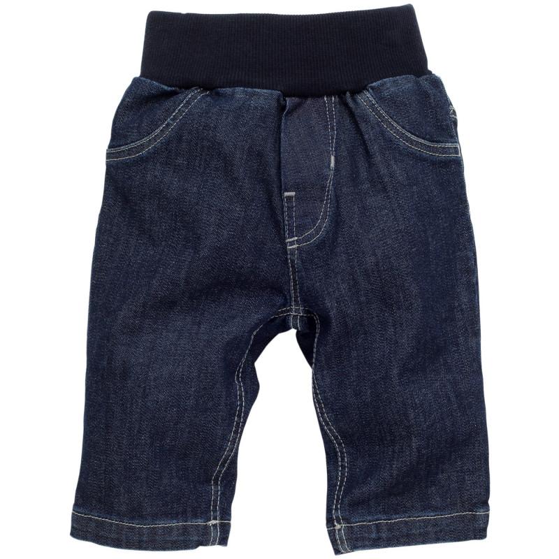 Памучни дънки за бебе момче  854