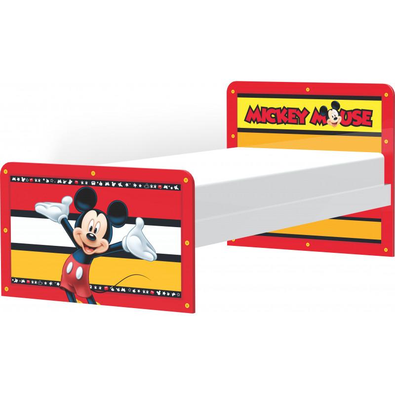 Детско легло, Mickey Mouse, 183.5х99.8х80 см.  8546
