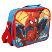 Термоизолираща чанта с каишка и картинка spiderman Stor 8670
