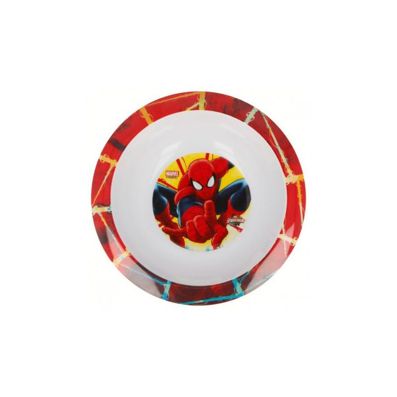 купичка с картинка spiderman, пластмаса 300 ml  8706