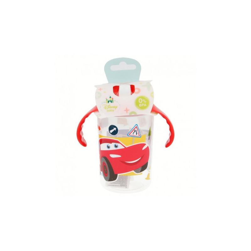 Чаша с червени дръжки и накрайник за пиене, 10+ м., картинка  8802