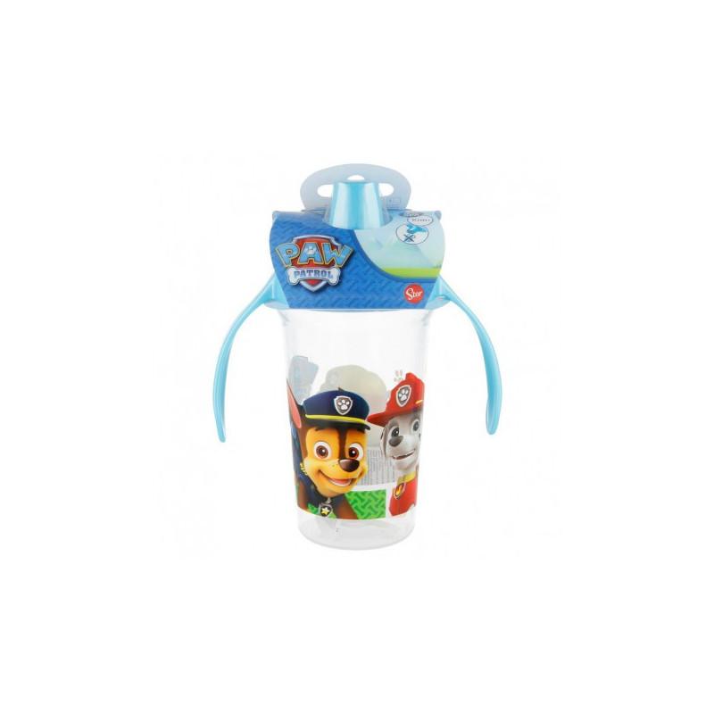Чаша с дръжки и накрайник за пиене, 10+ м., картинка paw patrol  8809