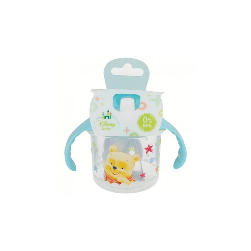 Чаша с дръжки и накрайник с картинка winnie baby  8816