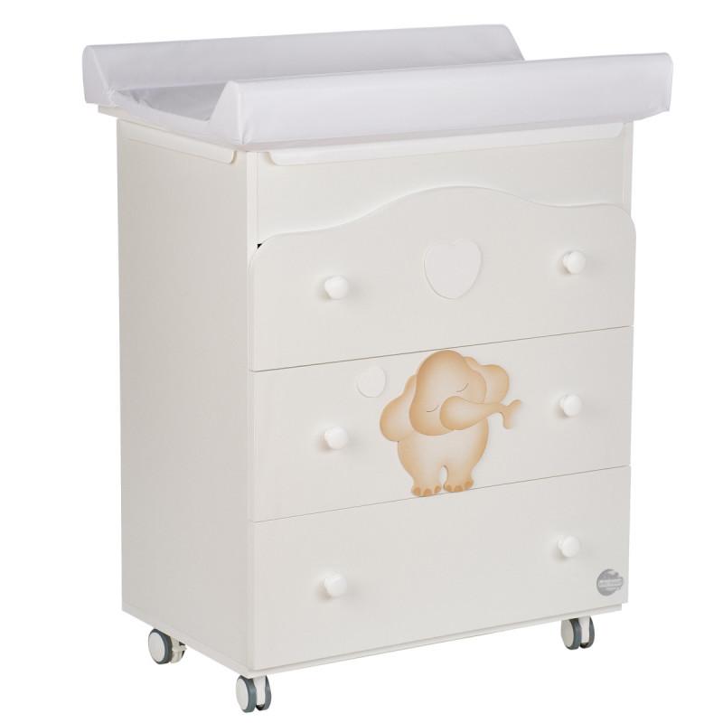 Скрин С вана и повивалник - със слонче Baby Expert 88227