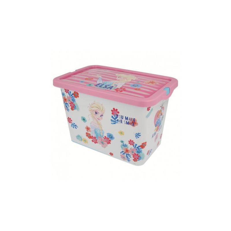 Кутия за съхранение с щракване за защита, Замръзналото кралство, 7 литра  8862