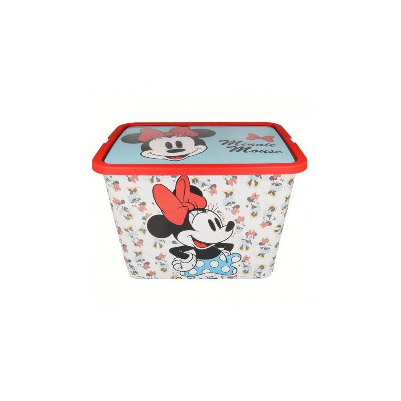 Кутия за съхранение с щракване за защита Мини Маус, 23 литра  8870