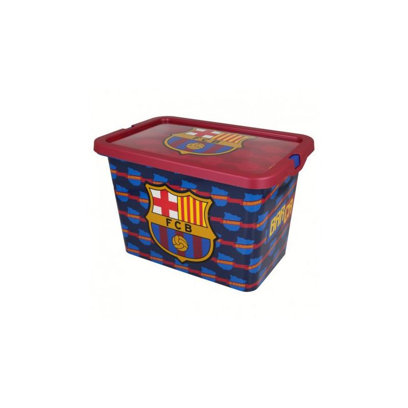 Кутия за съхранение с щракване за защита, FC Barcelona, 7 литра  8873