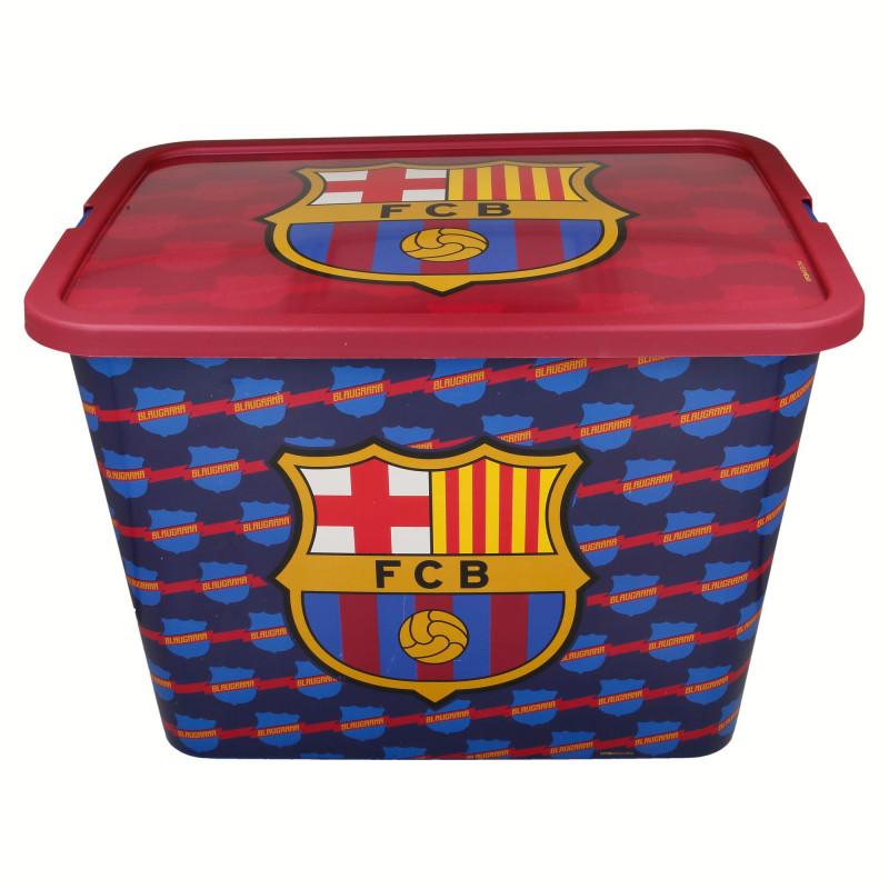 Кутия за съхранение с щракване за защита, FC Barcelona, 23 литра  8874