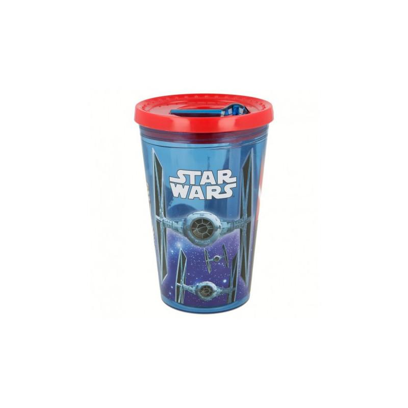 Чаша робот с капак и картинка star wars  8941