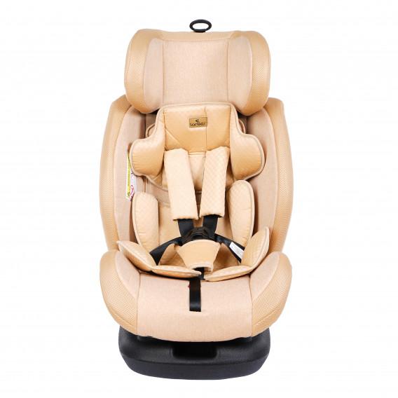 стол за кола с регулиране на облегалката RIALTO Isofix BEIGE унисекс Lorelli 89567