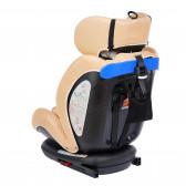 стол за кола с регулиране на облегалката RIALTO Isofix BEIGE унисекс Lorelli 89572 6