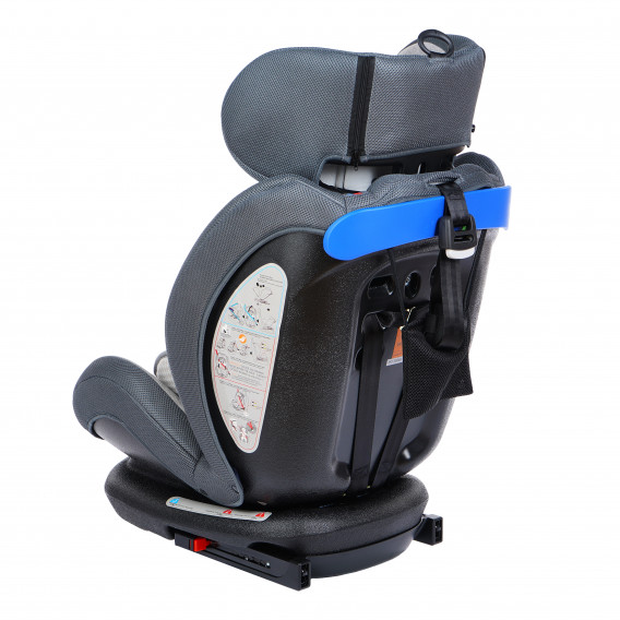 стол за кола с регулиране на облегалката RIALTO Isofix GREY унисекс Lorelli 89580 5