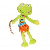 Играчка вибрираща жаба Lorelli 89653