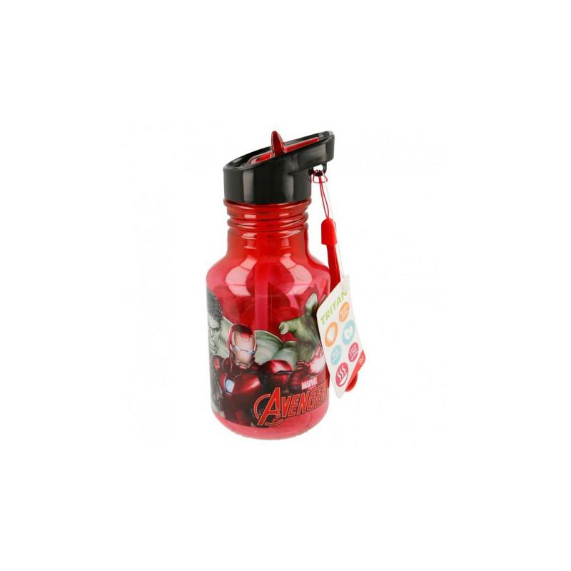 Тританова бутилка във формата на крушка с картинка, Heroes, 370 мл  8977