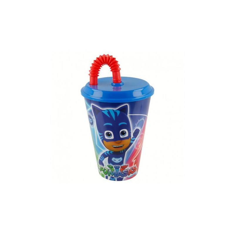 Чаша 430 ml. с картинка pj masks  9059