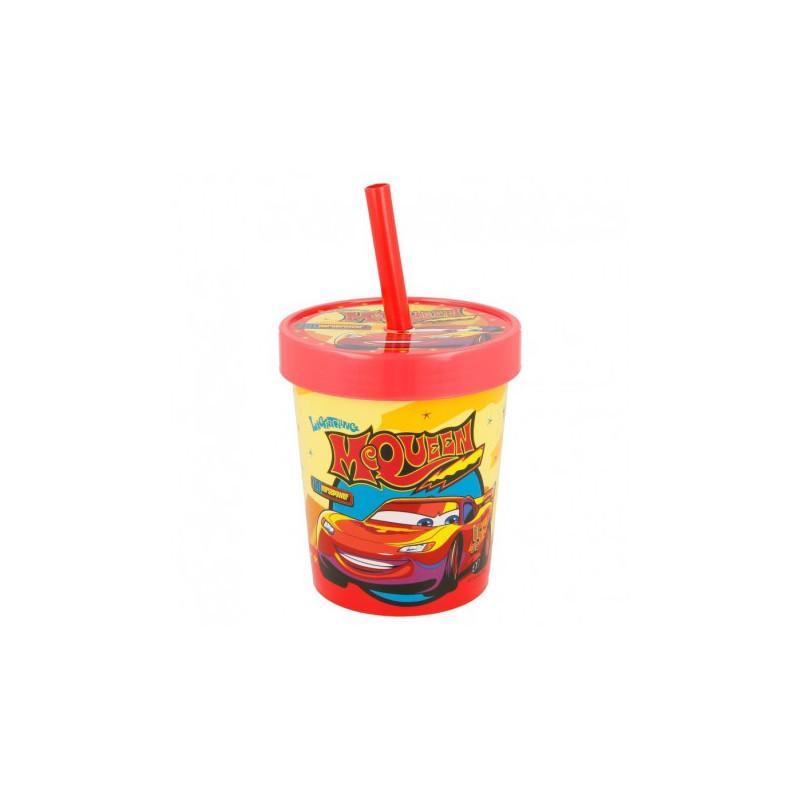 """Чаша с капак и сламка """"Колите""""  9060"""