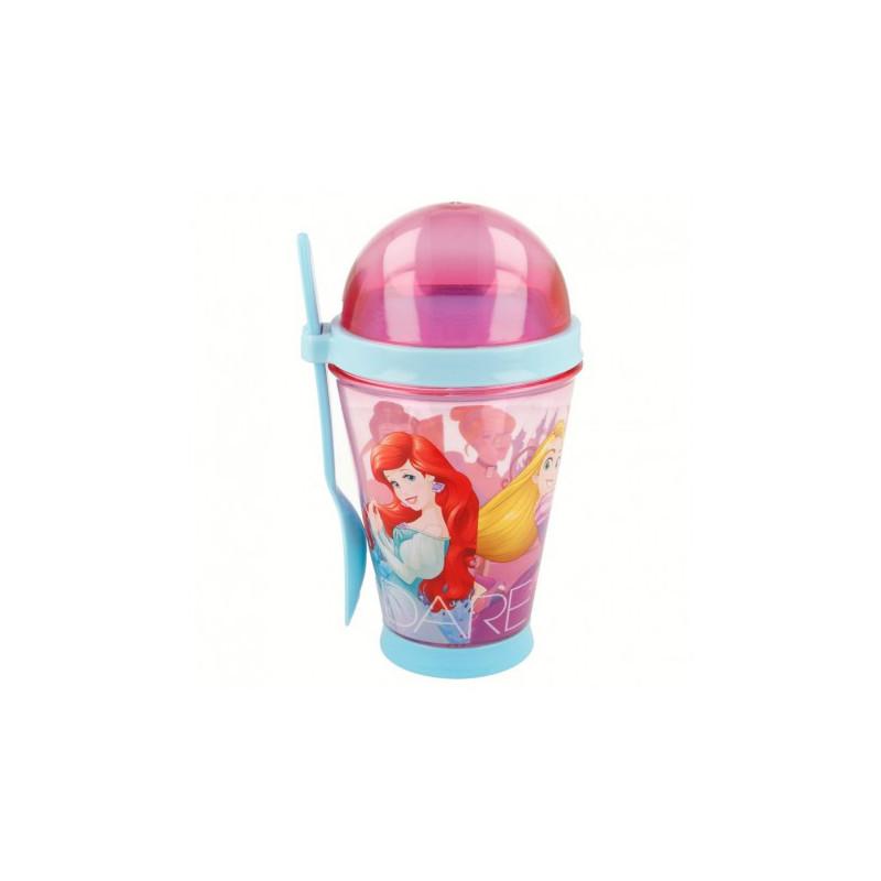 Чаша с лъжичка с картинка princess friendship adventure  9077