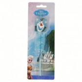 Сламка за пиене с картинка  olaf Frozen 9112