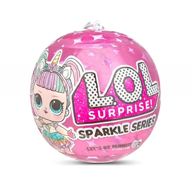 Кукла в сфера L.O.L. Surprise, серия с брокат 7  94397