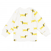 Памучна пижама с дълъг ръкав за бебе - унисекс Pinokio 94486 2