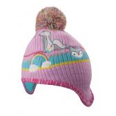 Комплект шапка и ръкавици за момиче YO! 9472