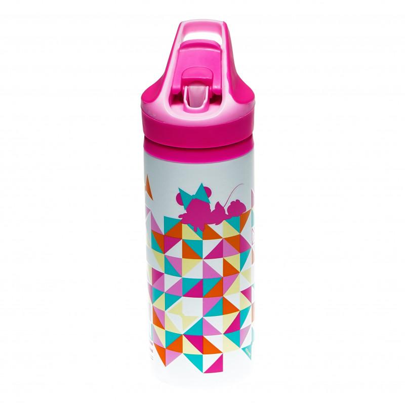 Алуминиева премиум бутилка с картинка, Forms, 600 мл  94961