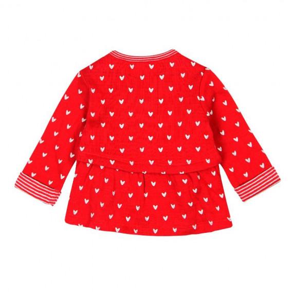 Памучна рокля с дълъг ръкав за бебе Boboli 95 2