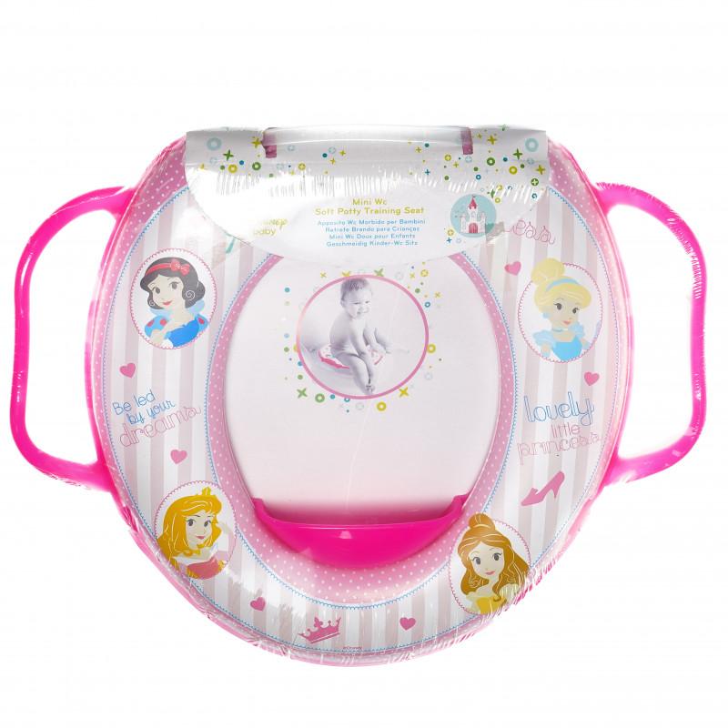 Мини wc седалка за деца с дръжки и картинка little princess  95024