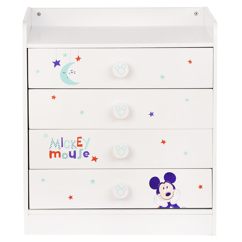 Скрин Бял - Mickey Mouse, 80х73х46 см.  95711