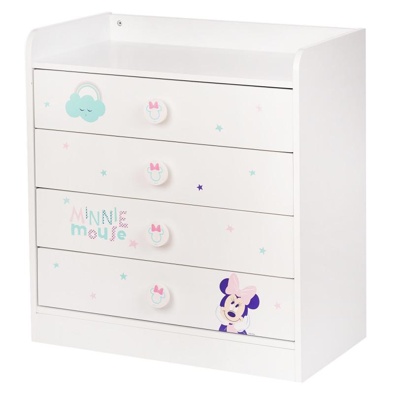 Скрин Бял - Minnie Mouse, 80х73х46 см.  95716