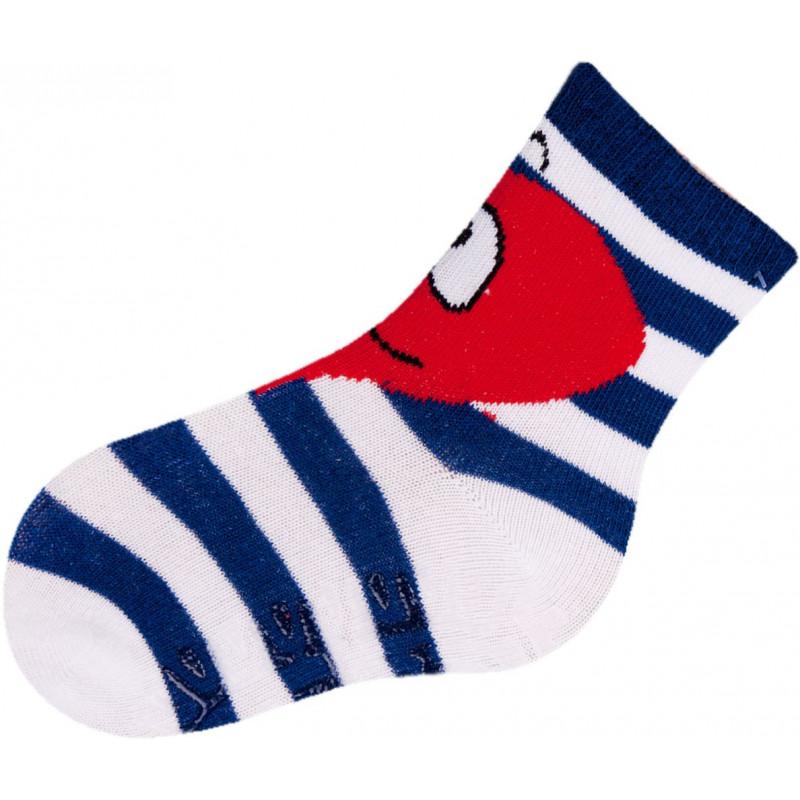 Памучни чорапи за момиче със силиконови шарки  9589