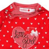 Памучна рокля с дълъг ръкав за бебе Boboli 96 3