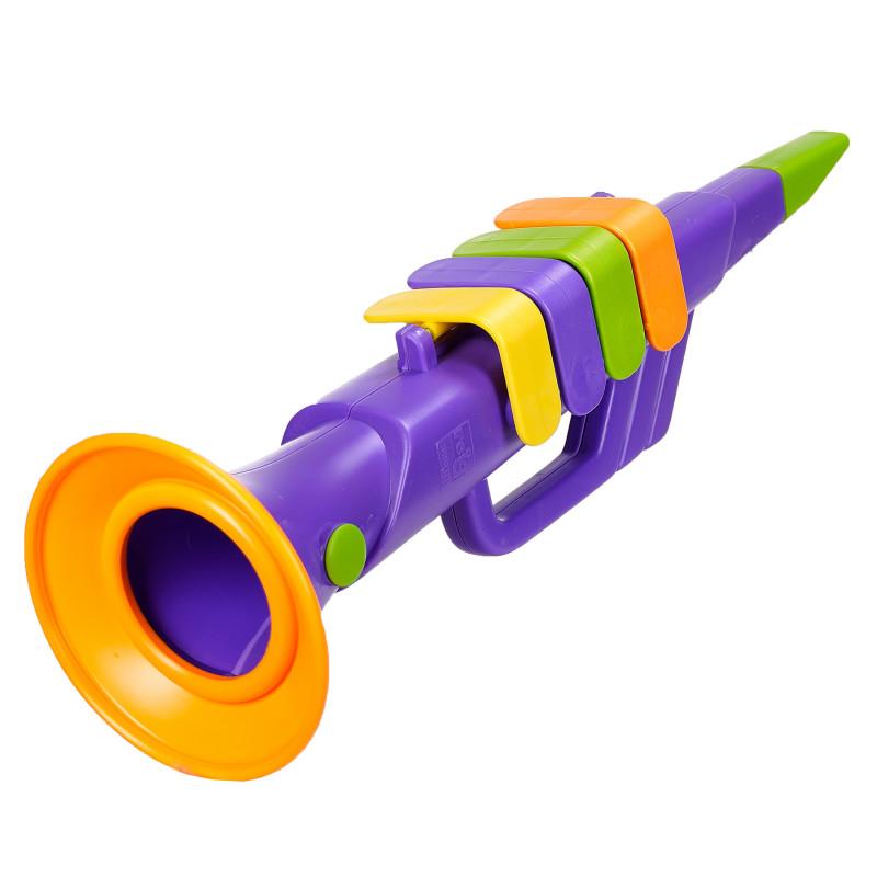Детски тромпет с 4 ноти  96034